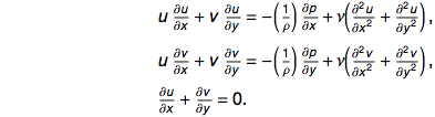 Navier-Stokes equations simplified