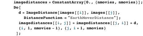 EarthMoverDistance method
