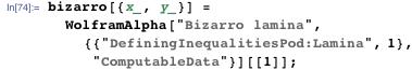 bizarro[{x_, y_}] = WolframAlpha