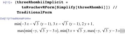 (threeRhombiiImplicit =     toRvachevRForm[Simplify[threeRhombi]]) // TraditionalForm