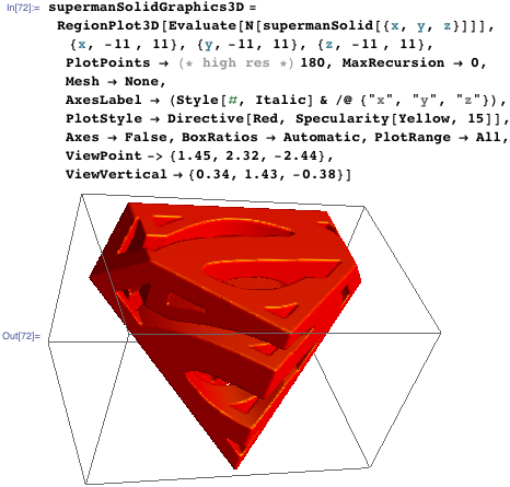 supermanSolidGraphics3D