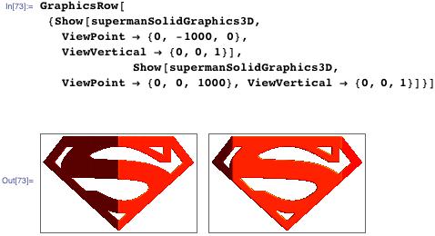 Superman GraphicsRow