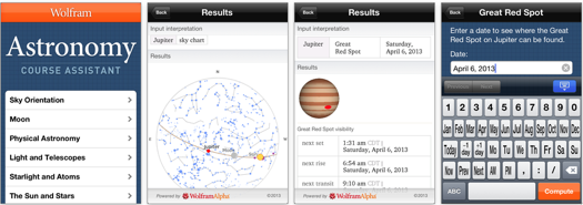 Wolfram Course Assistant Apps_ Astronomy