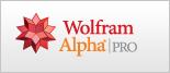 Wolfram|Alpha Pro