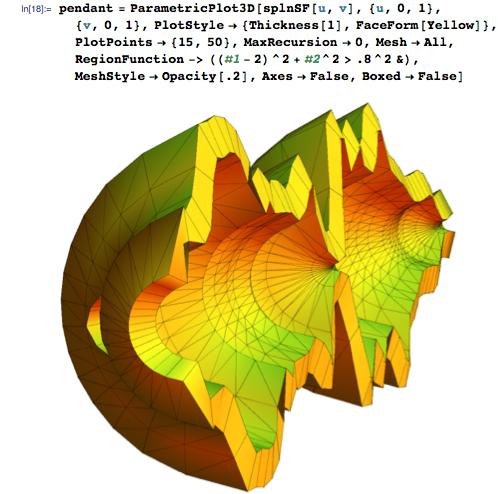 pendant = ParametricPlot3D