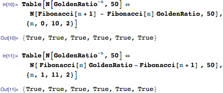 Length of successive branches can be represented using Fibonacci numbers