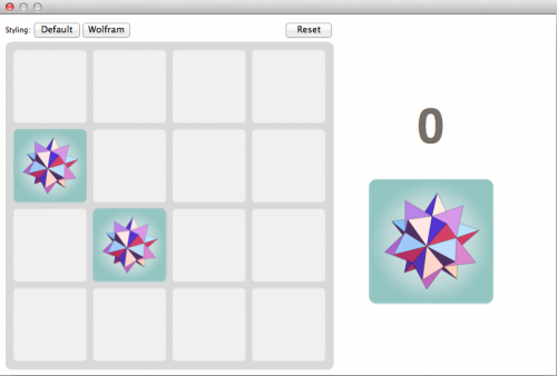 Final screen shot of Wolfram 2048