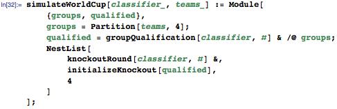 Full simulation function