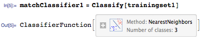 Training classifier