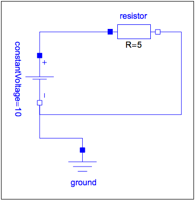 Simplest electrical circuit