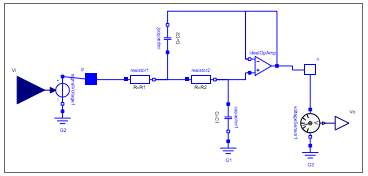 Operational amplifier added