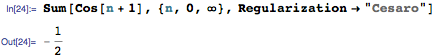 Fejér's theorem