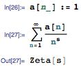 Defined Riemann Zeta function