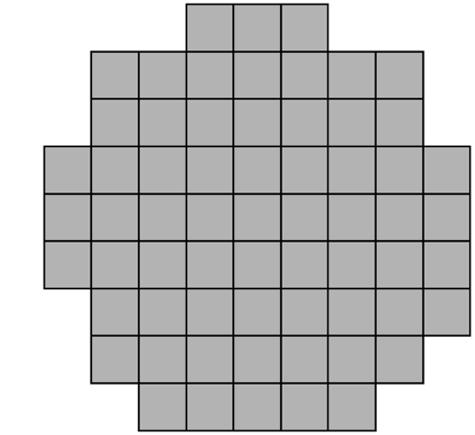 Non-rectangular shape