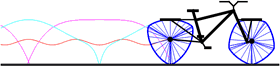 Bicycle Wheels Using Curves of Constant Width
