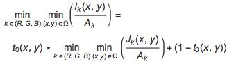 Coarse estimate for the transmission t0
