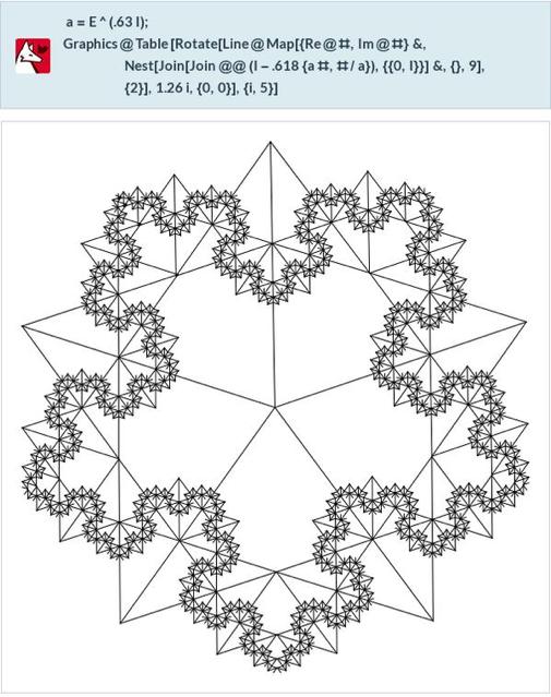 Second fractal image