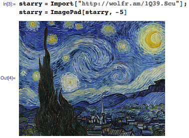 Extrapolation of Starry Night