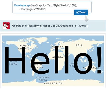 Hello World Tweet-a-Program