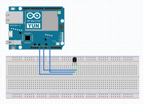 TMP36 hardware diagram