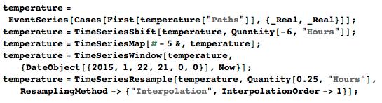 adruino temperature code