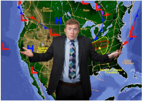 confused weatherman