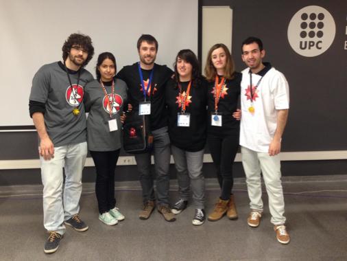 Smart cities hackathon participants