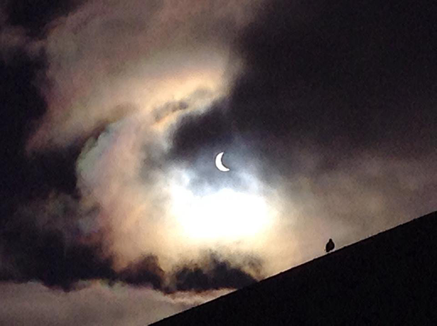 Image of eclipse from Tanvi Chheda