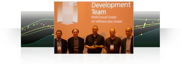 Development team at European Wolfram Technology Conference