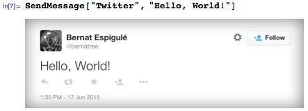 Send Hello, World Tweet