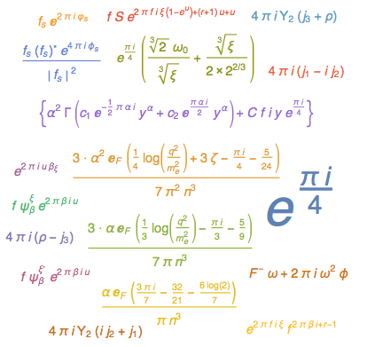 WordCloud of formulas that would become simpler