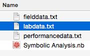 File dialog window
