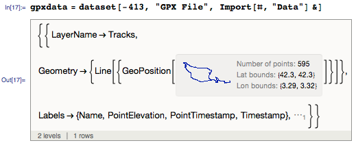 Accessing the GPX in a Wolfram Language form
