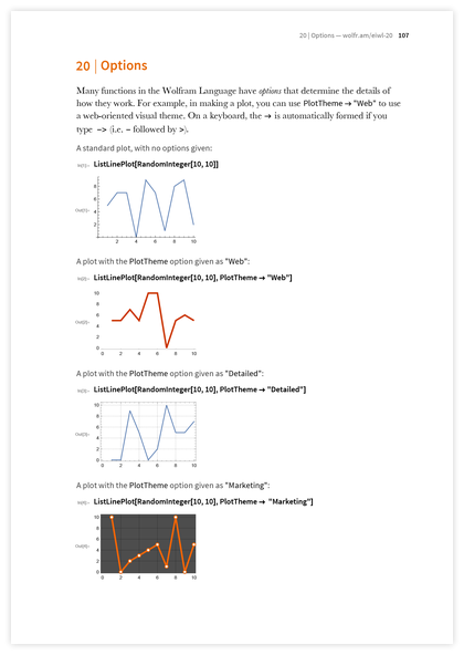 Page 107 of An Elementary Introduction to the Wolfram Language
