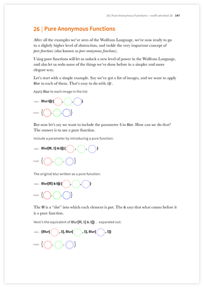 Page 147 of An Elementary Introduction to the Wolfram Language