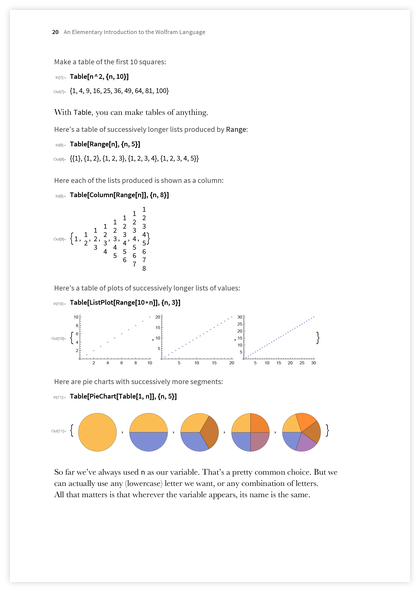 Page 20 of An Elementary Introduction to the Wolfram Language