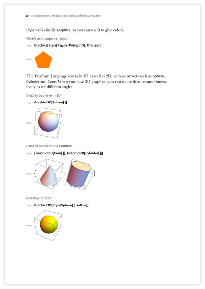 Page 30 of An Elementary Introduction to the Wolfram Language