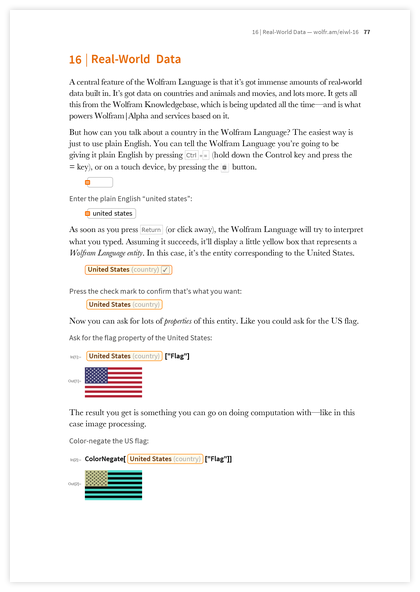 Page 77 of An Elementary Introduction to the Wolfram Language