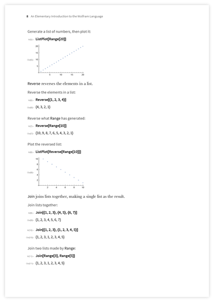 Page 8 of An Elementary Introduction to the Wolfram Language