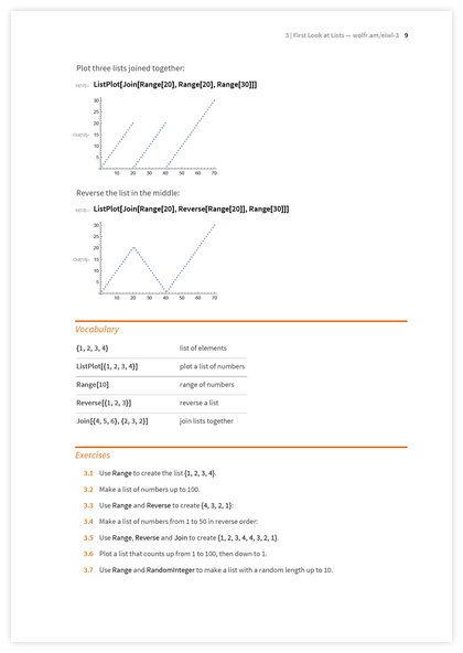 Page 9 of An Elementary Introduction to the Wolfram Language
