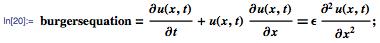 Burgers' equation for viscous fluid flow