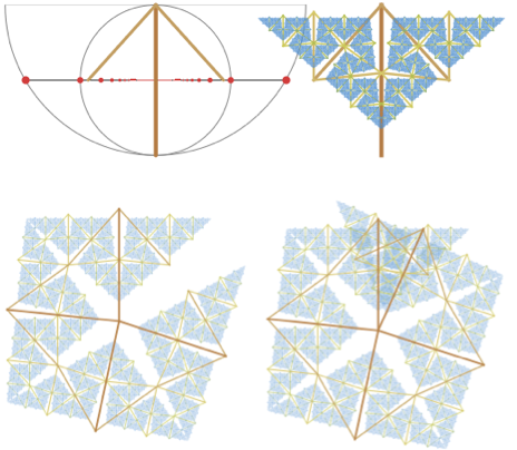 Koch-like curve that cannot be assembled to make a snowflake