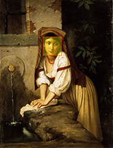 Italian Girl by the Well