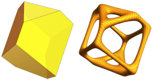 Dürer solid's equipotential surfaces