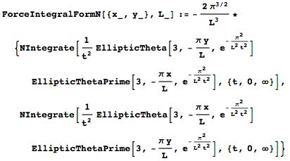 Obtaining a converging integral