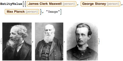 James Clerk Maxwell, George Johnstone Stoney, and Max Planck