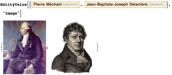 Pierre Méchain and Jean Baptiste Joseph Delambre