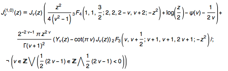 First derivatives of the Bessel functions in closed form for arbitrary values of the parameter