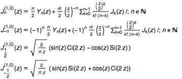 Closed-form Bessel J derivatives known prior to 2002