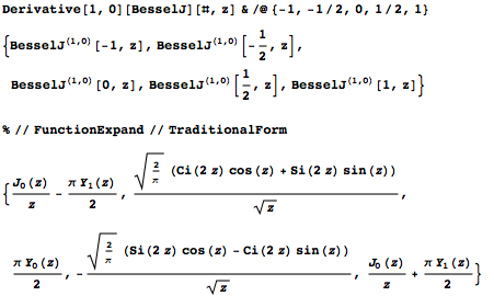 FunctionExpand will explicitly evaluate some derivatives